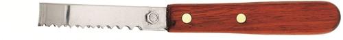 Au Nain Ecailleur professioneel klein roestvrijstaal 16 cm met palisanderhouten heft