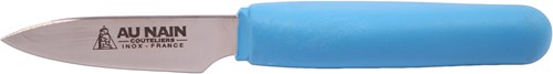 Au Nain Oestermes ergonomisch rvs blauw kunststof heft 16cm