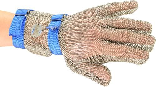 Oesterhandschoen L met manchet 75 mm lang