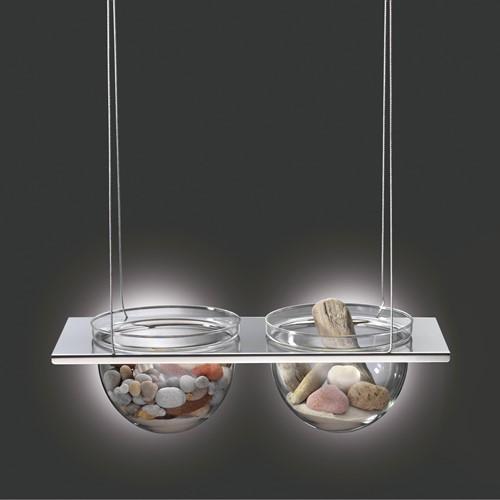 Mono Duo, RVS & glas