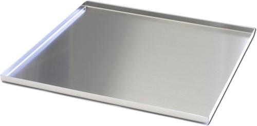 Mono diner dienblad, 38 x 38 cm met anti slip PVC-inzet