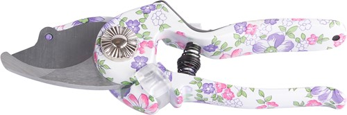 Bloemenschaar heft met anti-slip en bloemenprint