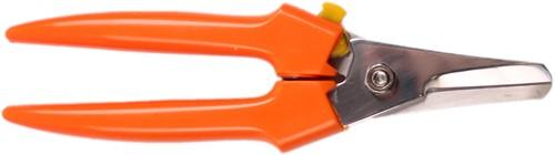 Gondola Allesknipper groot oranje met sluiting 19 cm