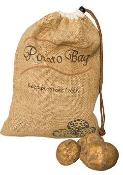 Vershoudzak voor aardappels, 5 kg