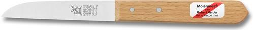 Robert Herder Klassiker Aardappelmes 8,5 cm carbonstaal niet roestvrij met FSC roodbeuken houten heft