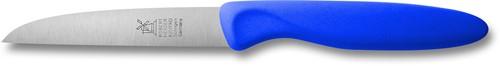 Robert Herder klassiker 1972 Aardappelmes 8,5 cm roestvrijstaal  met blauw kunststof anti-slip heft