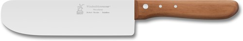 "Robert Herder mespalet ""Wägerle"" 18 cm RVS licht flexibel appelboomhout"