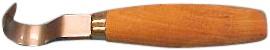 Boomkankermes normaal gebogen houten heft