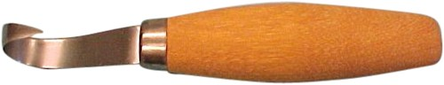 Boomkankermes cilindervorm houten heft
