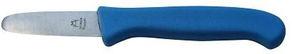 Paprikamesje blauw kunststof heft 53 mm