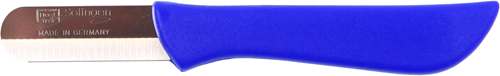 Paprikamesje bandstaal roestvrij blauw heft (dun)