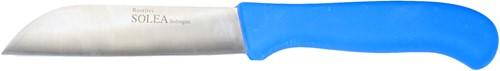 Groentemes rv 13 cm blauw kunststof heft