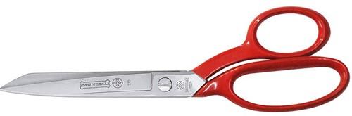 Mundial Serra Sharp  270-7SR Coupeuseschaar / Stofschaar rood gelakt 18 cm