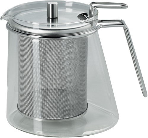 Mono Theepot 1,3 liter met mono-ellips