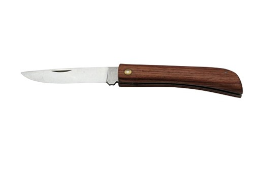Zakmes slagers 19 cm hout