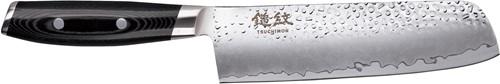 Japans Yaxell TSUCHIMON Nakiri Koksmes 18 cm