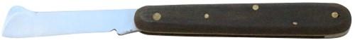 Oculeermes 10½ cm zwart woodplex heft