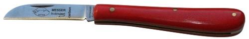 Copuleermes 10 cm rood heft