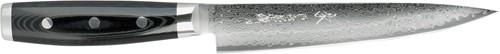 Japans Yaxell Gou Vleesmes 18 cm 101 laags roestvrij damast staal met canvas-micarta heft