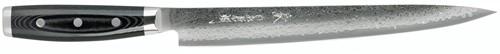 Japans Yaxell Gou Fileer/Sushimes 25,5 cm 101 laags roestvrij damast staal met canvas-micarta heft