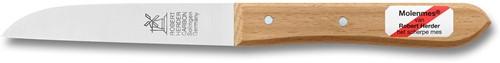 Robert Herder Klassiker Aardappelmes 9 cm Carbonstaal met Lang Roodbeukenhouten heft