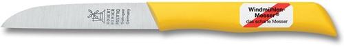 Robert Herder Klassiker 1966 Aardappelmes 8,5 cm roestvrijstaal met geel Kunststof heft