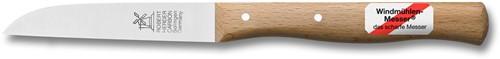 Robert Herder Klassiek Aardappelmes 8,5 cm roestvrij staal met Roodbeukenhouten heft