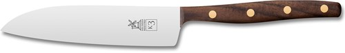 Robert Herder K3 Koksmes 12,5 cm RVS walnoot