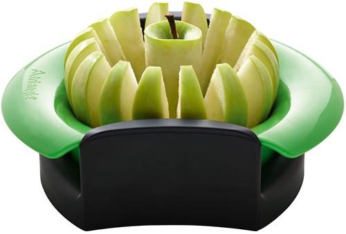 Appeldeler met tegenvorm in doos