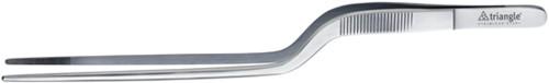 Triangle Precision Pincet met dubbele knik 14 cm roestvrijstaal