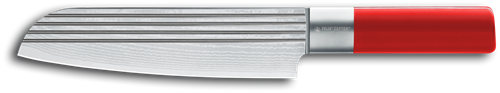 Felix Absolute ML Lines Koksmes Santoku met kuilen 19 cm