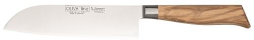 Koksmes Santoku breed 18 cm Oliva Line
