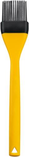 Bakkwast van siliconen kleur geel