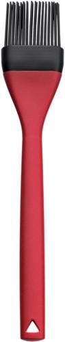 Bakkwast van siliconen kleur rood