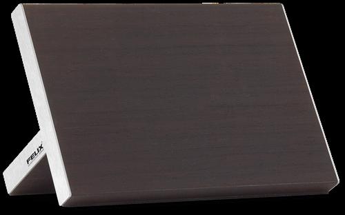 Dit magnetische messenblok past perfect bij roestvrijstalen keukens. Hij garandeert dat uw messen altijd bij de hand zijn tijdens het keukenwerk.
