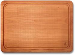 Ligna Quattro snijplank kersenhout met sleuf 45 cm