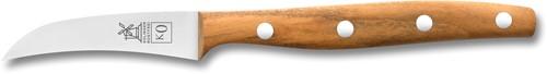 Geschenk-set K0 RVS heft abrikozenhout
