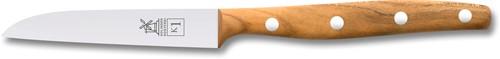 Robert Herder K1 Schil-/groentemes 9 cm RVS abrikozenhout