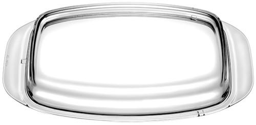Eurolux glazen deksel 33 x 22 cm