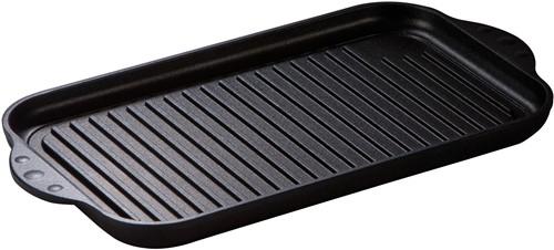 Eurolux grillplaat 36,5 x 21,5 x 2,5 cm inductie