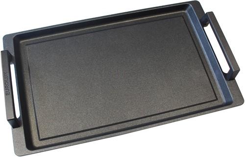 Eurolux teppanyaki plaat met grepen 41 x 24 x 2,5 cm inductie