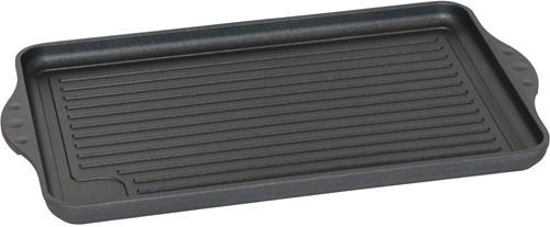 Eurolux grillplaat geribbeld 43 x 28 x 2,5 cm inductie