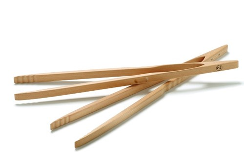 Grilltang van hout 60 cm