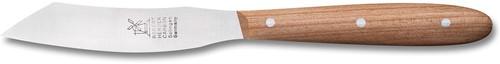 Robert Herder Yatagan mini Groente-/fruitmes 6,5 cm carbon lemmet met kersenhouten heft