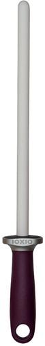 Aanzetstaal rond, keramisch, korrel 1000, lengte  26 cm, ideaal voor nascherpen, kleur paars