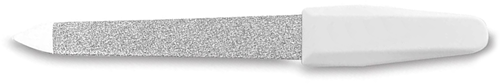 Nagelvijl Saffier 9 cm. wit