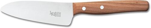 Robert Herder Koksmes voor kinderen mini 12 cm roestvrij staal met kersenhouten heft