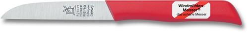 Robert Herder Klassiker 1966 Aardappelmes 8,5 cm RVS Kunststof rood