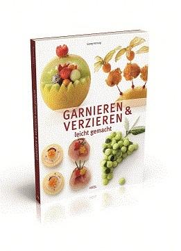 Kookboek garneren en versieren