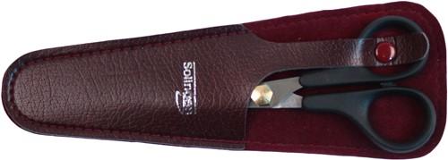 Peres Perfection kappersschaar 13 cm in lederen etui